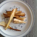 Op Mix Erf - Hemels gerechten - Wendy Phaff - geroosterde pastinaak met honing dressing