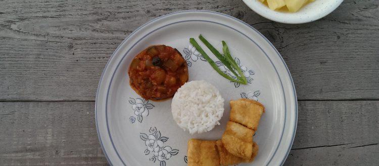 Op Mix Erf - Hemels gerechten - Wendy Phaff - plaa phad priaw waan - roodbaarsfilet in zoetzure saus