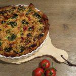 Op Mix Erf - Hemels gerechten - Wendy Phaff - quiche met zalm en broccoli